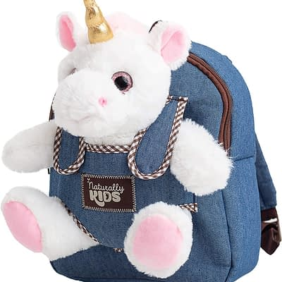 Naturally Kids backpack with unicorn