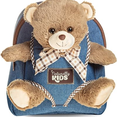 Naturally Kids backpack with bear