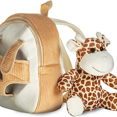 Naturally Kids backpack with giraffe