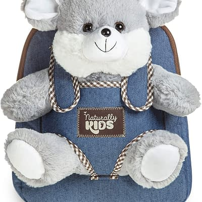 Naturally Kids backpack with mouse