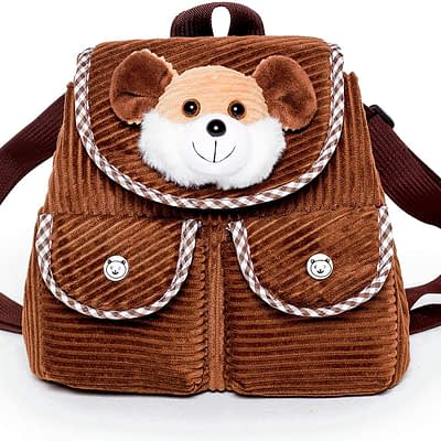 Naturally Kids backpack with mini mouse